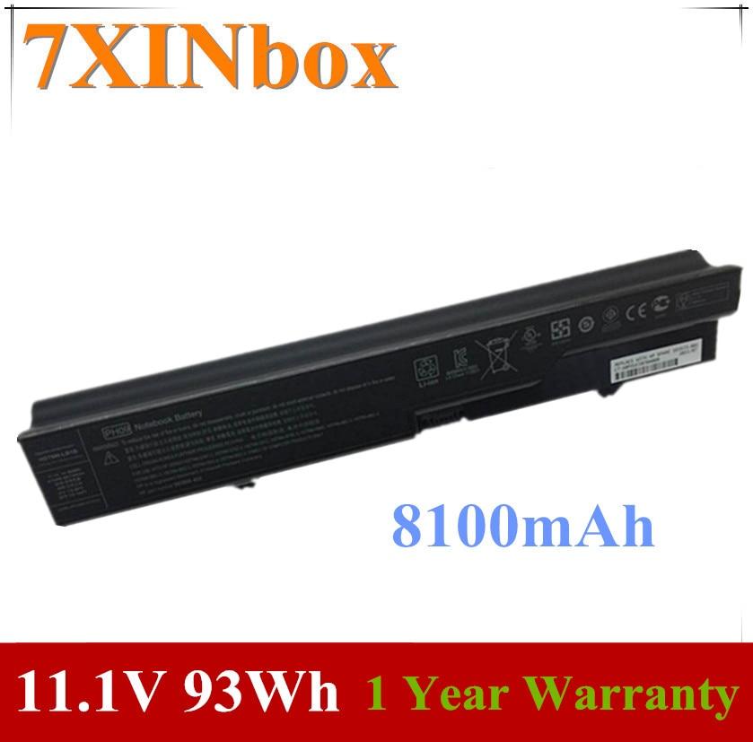 7 93Wh PH09 XINbox 11.1V 8100mAh Bateria Do Portátil Para HP ProBook 4320S 4321S 4325S 4520s 4525s 320 420 593573-001 HSTNN-LB1B