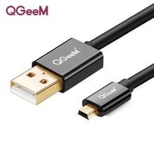 كابل يو اس بي صغير USB صغير إلى USB شاحن بيانات سريع كابل للهواتف الخلوية MP3 MP4 لاعب لتحديد المواقع كاميرا رقمية HDD USB صغير