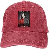la casa de papel adult cowboy hat baseball cap adjustable athletic customized awesome hat