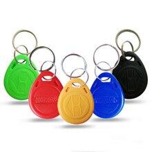 500 stücke RFID proximity EM karte keyfob tag 125kHz form karte keyfob tags