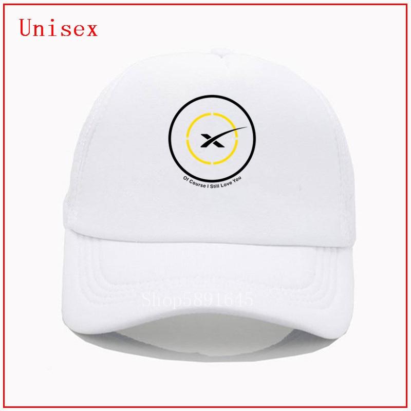 SpaceX por supuesto I Still I love you negro amarillo sombreros de verano para mujeres visores de Sol para mujeres chapeau homme snapback sombreros para hombres