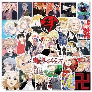 Tokyo Revengers Japanese anime 50pcs/pack Cartoon Stickers For Skateboard Computer Notebook Car Decal Children's Toys Etc