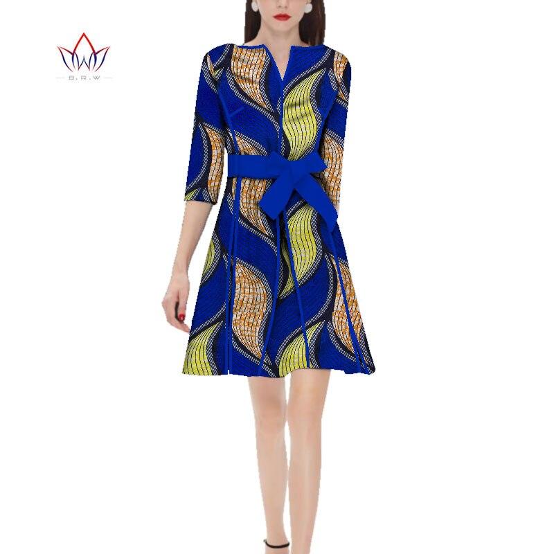 Весна 2021 Женская африканская одежда с круглым вырезом платье с коротким рукавом африканская женская одежда повседневное традиционное Афри...