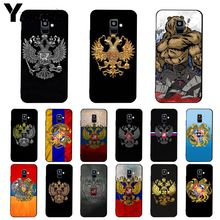 Yinuoda Larménie Albanie Russie drapeau Emblème Téléphone étui pour samsung Galaxy A7 A50 A70 A20 A30 A40 A8 A6Plus A8Plus A9 2018