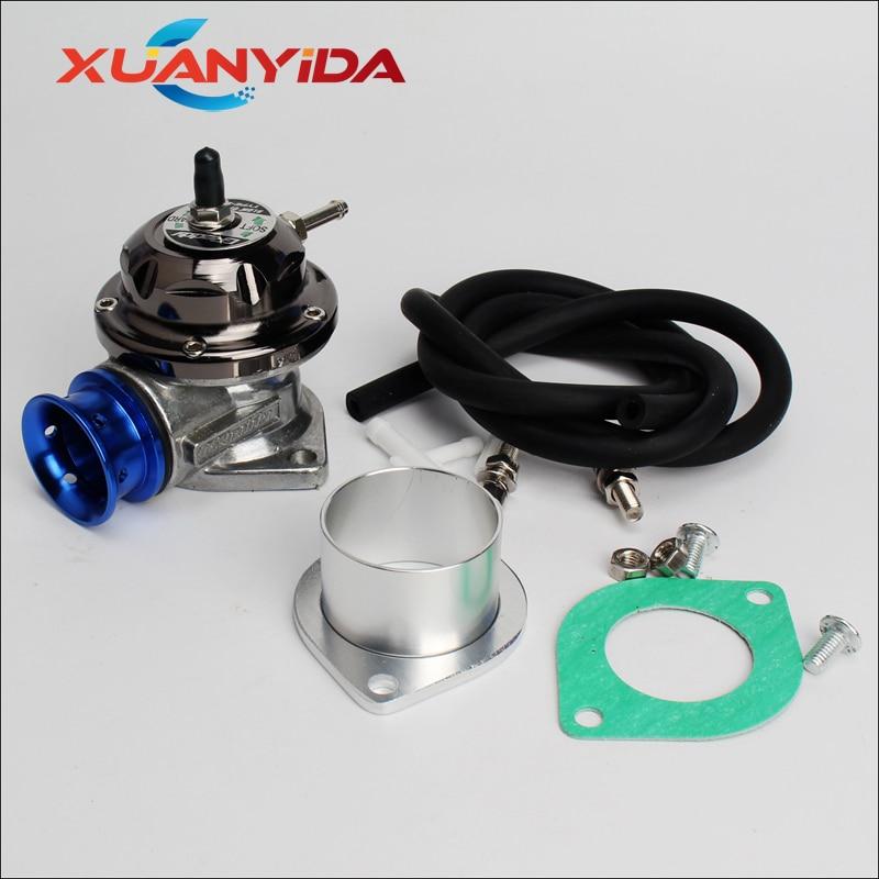 Xuanyida, válvula de descarga Turbo ajustable tipo RS Universal, 25PSI, adaptador de descarga/descarga de BOV, 65mm