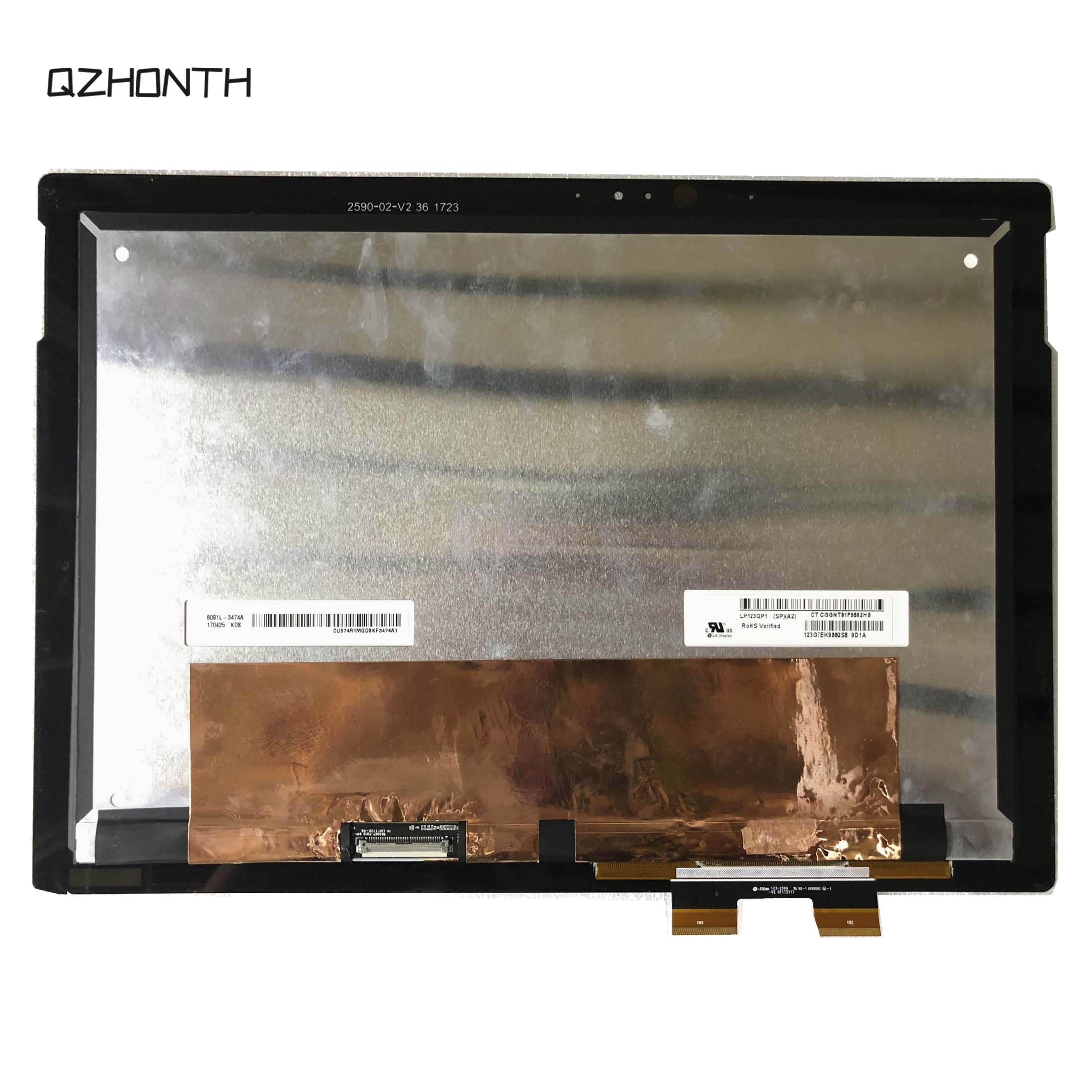كمبيوتر محمول LCD شاشة تعمل باللمس الجمعية ل HP الطيف x2 12-C سلسلة LP123QP1-SPA2 12.3