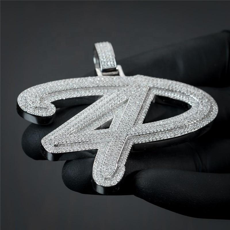OTIYCustom Pics Hip Hop Pendants Jewelry VVS D Moissanite Cuban Pendants Men and Women Hip Hop Jewelry