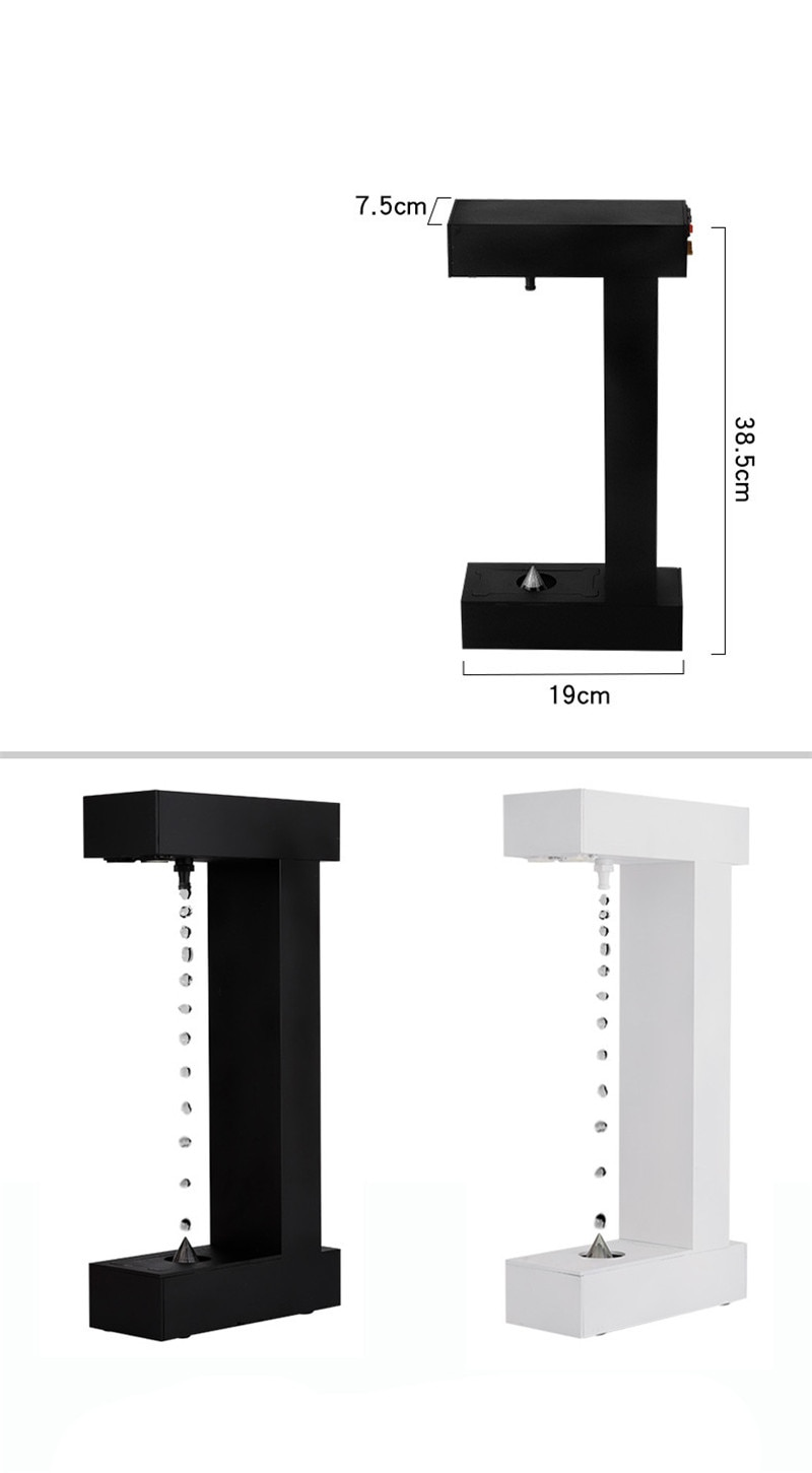Anti-Gravity Anti-Gravity Water Drops Back Flow Office Decoration Creative Personality Modern Time Hourglass enlarge