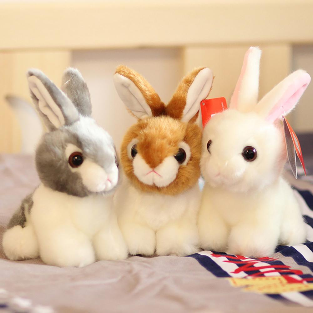 20cm Niedlichen Kaninchen Plüsch Puppe Simulation Bunny Spielzeug Kinder Geburtstag Geschenk Decor für Kinder Freund Mädchen Neue
