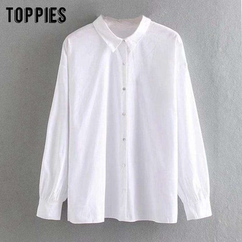Blusa de algodón de manga larga para mujer primavera otoño 2020, camisas plisadas de diseño informal, blusa verde blanca