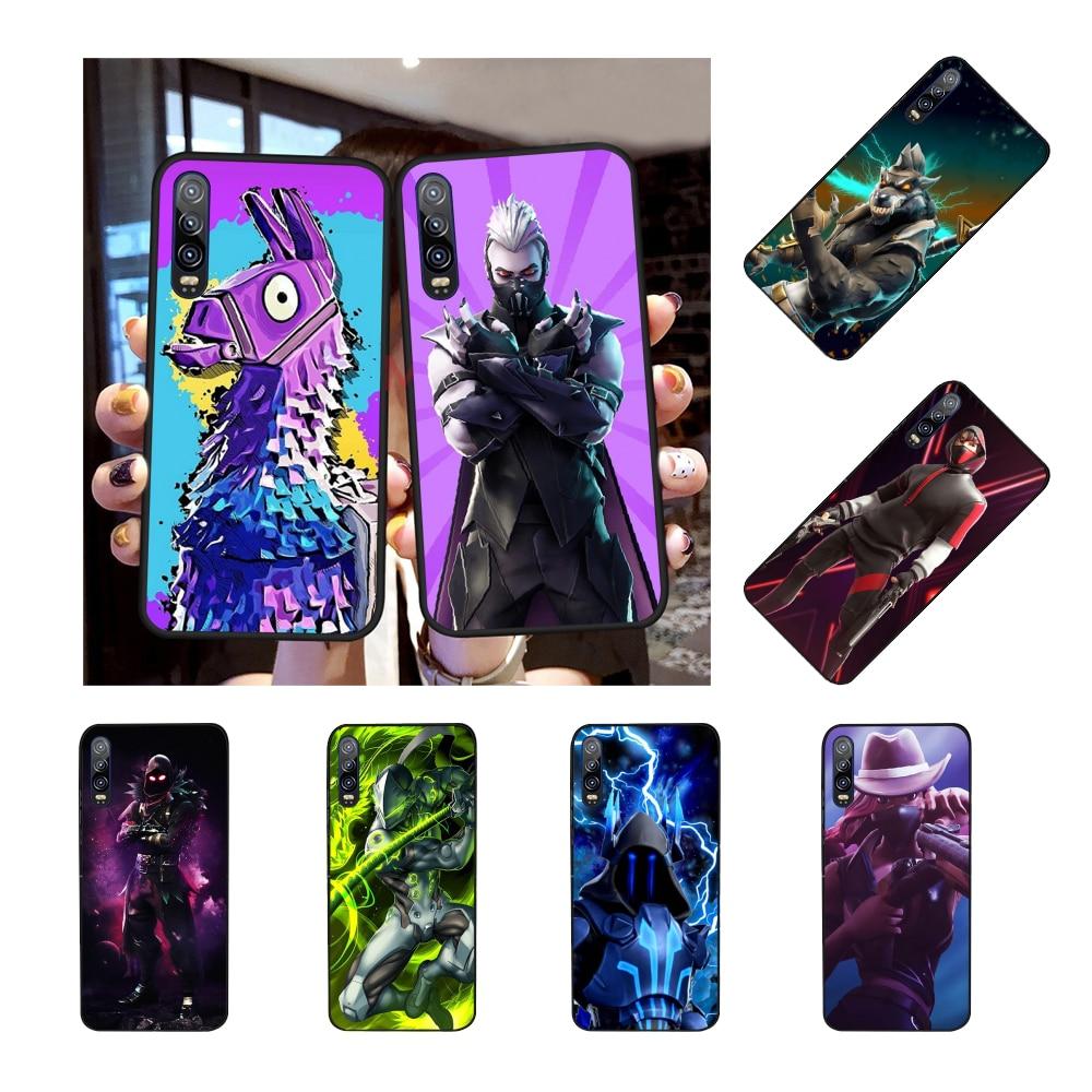 NBDRUICAI batalla Coque funda del teléfono carcasa para Huawei P30 P20 P10 P9 P8 amigo 20 10 Pro Lite