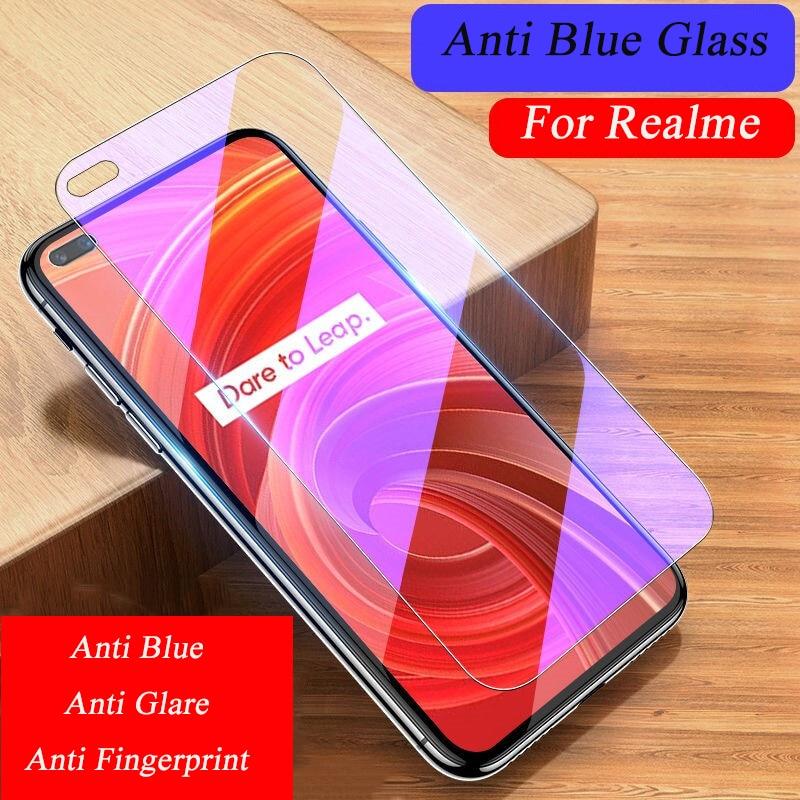 Anti Blau Gehärtetem Glas Für Realme X50 Pro X50M 5G Player X3 Super Zoom Screen Protector Für Realme X2 pro X XT Schutzhülle Film