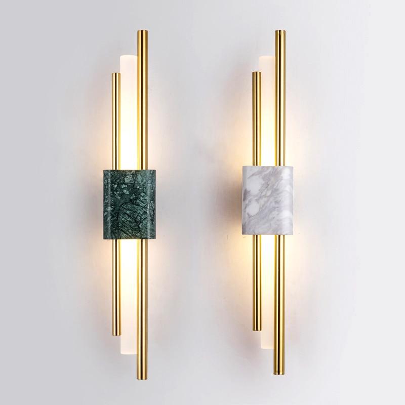 مصباح جداري led بتصميم ما بعد الحداثة ، تصميم إسكندنافي إبداعي ، إضاءة زخرفية داخلية ، مثالي لغرفة المعيشة أو غرفة النوم أو طاولة السرير ، مادة...