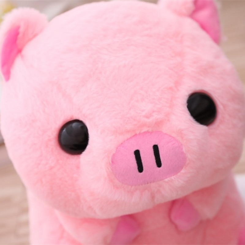26/40cm Cute Pink Pig Plush Toys & Indoor Warm Winter Adult Stuffed Cartoon Kawaii Shoes Lovely Pillow for Girls Valentine Gifts  - buy with discount