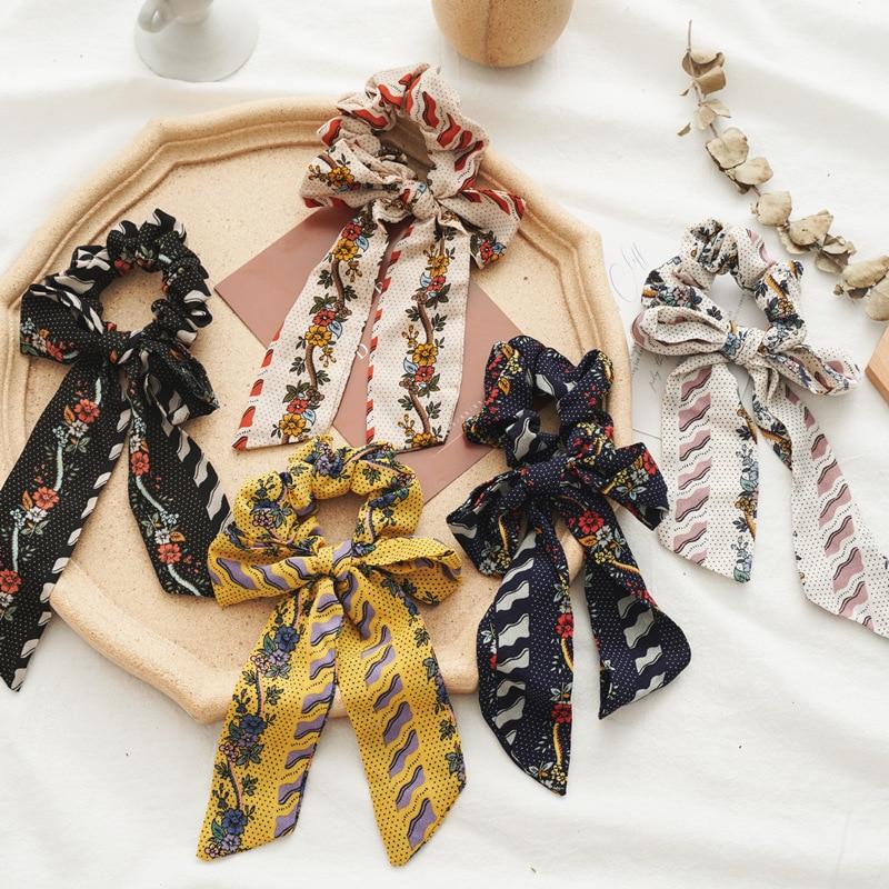 Lazos para el cabello haarband, bandas elásticas para el cabello, accesorios para mujer, serre turbante, paquete de scrunchie, soporte para la cabeza de cola de caballo