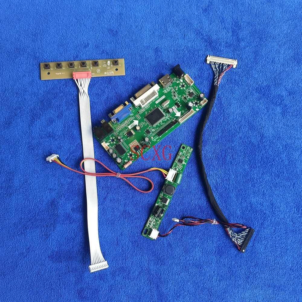 MNT68676 مجموعة لوحة القيادة لوحة VGA DVI HDMI-متوافق مع تناسب LM215WF4-TLA1/TLE1/TLG1/TLH1/TLJ1/TRA1 1920*1080 LCD LED LVDS 30 دبوس