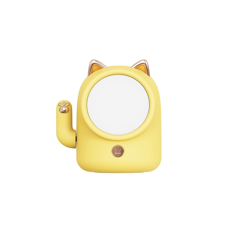 Touch Switch Lucky Cat Night Light USB Charging Led Bedroom Bedside Night Light Creative Gifts for Children Girl Bedside Bedroom