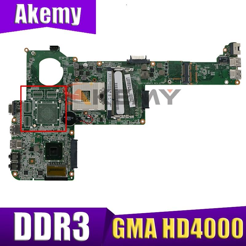 AKEMY اللوحة المحمول لتوشيبا C840 L840 A000174120 A000175320 A000174110 DABY3CMB8E0 HM76 GMA HD4000 DDR3