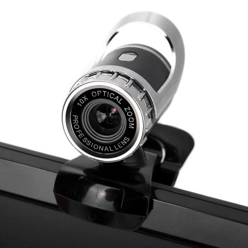 Cámara Web USB Original 2,0 para PC Webcam nocturna con controlador gratis...