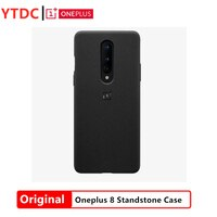100% Original New Official Oneplus 8 Standstone Case Black Blue Purple Three Colors OnePlus 8 Standstone Case for Oneplus 8 phon