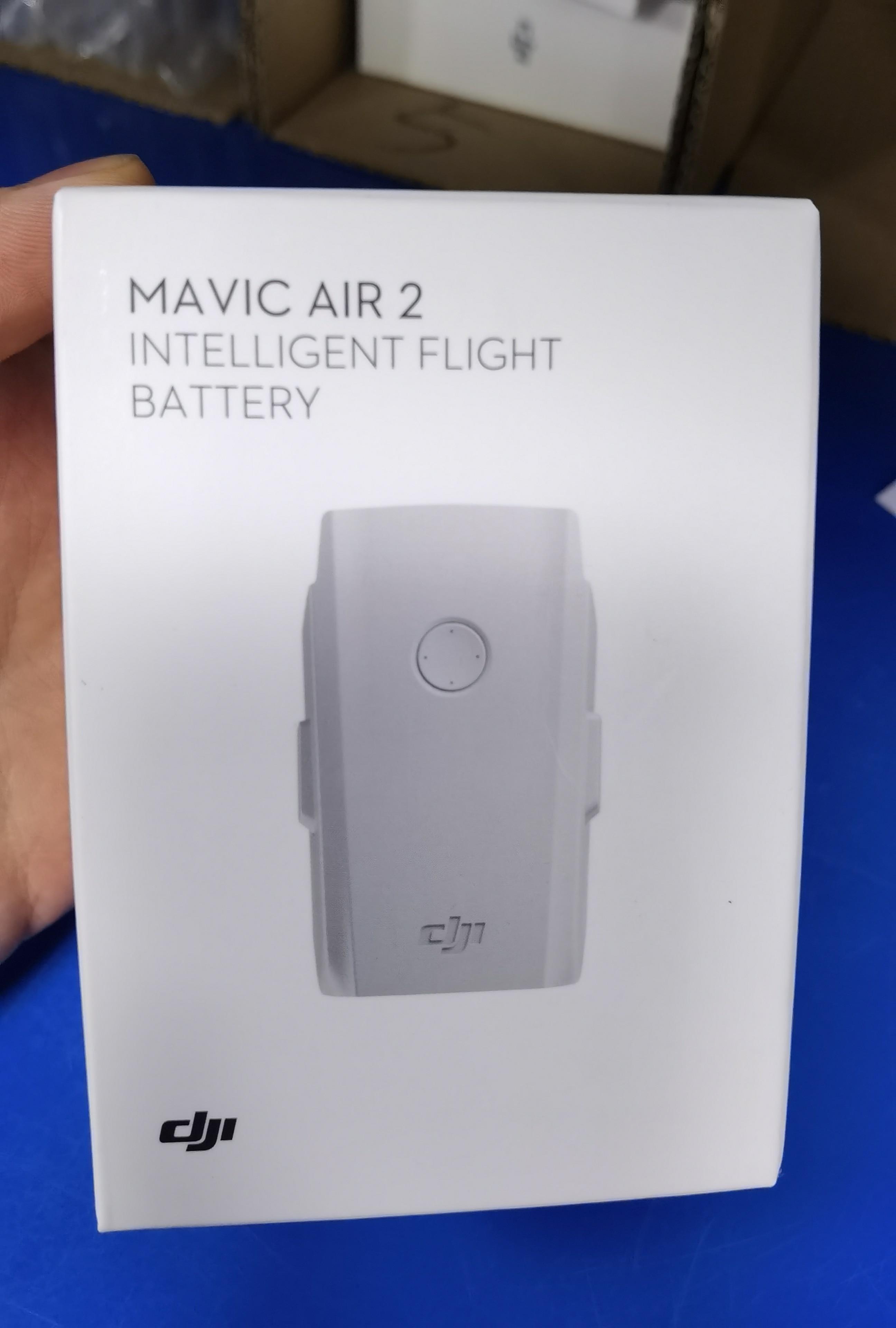 بطارية أصلية DJI Mavic Air 2 بقدرة 3500 مللي أمبير في الساعة بطارية عالية الطاقة وقت الطيران لمدة 34 دقيقة لطائرة Mavic Air 2S/2 طائرة عالمية بدون طيار
