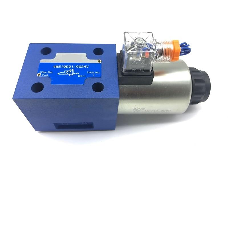 Válvula hidráulica electromagnética direccional 4WE10E-3X / EG24 4WE10E-20 / AG24-24N5L