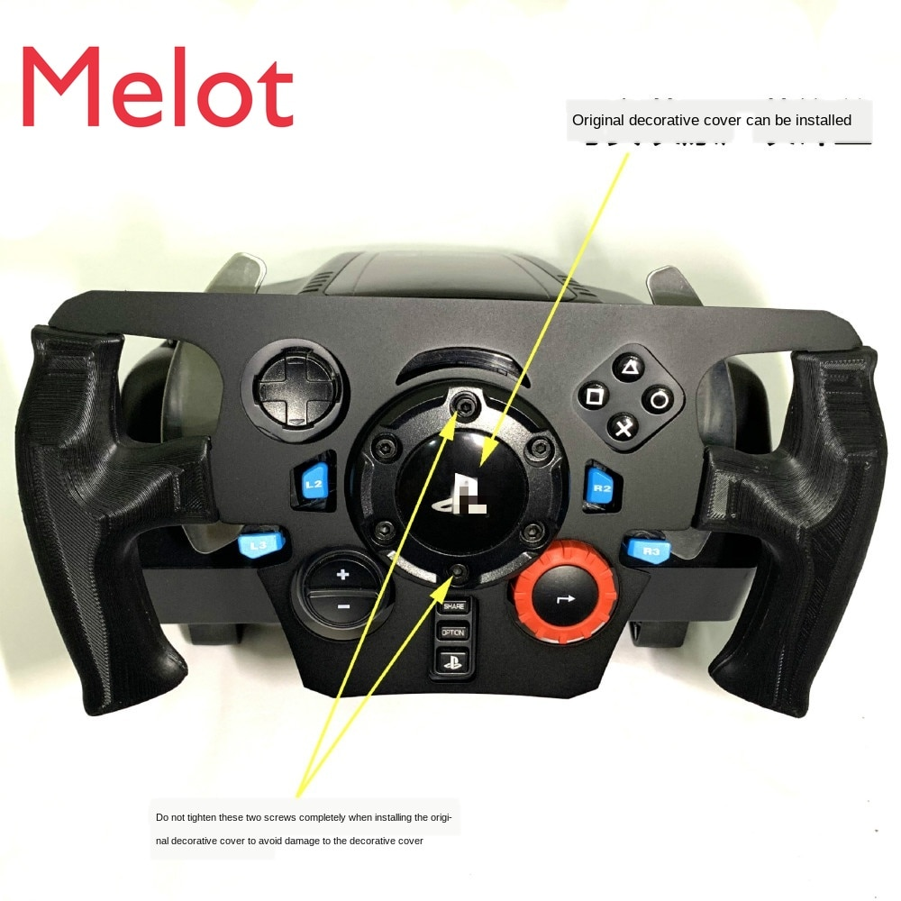Applicable to Rotted G29 Steering Wheel Modified Disc Formula F1 Racing Game Simulation Bracket G27 Stainless Steel and Carbon enlarge