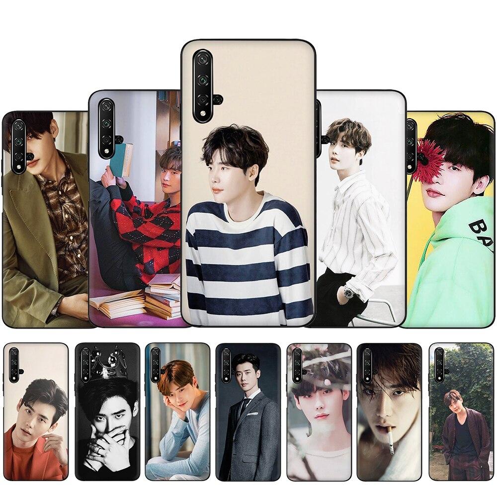 Ídolo de Lee Jong Suk de silicona suave funda del teléfono para Huawei Honor 6A 7A Pro 7C X 8C 8X 8 9 10 Lite 20 9X Pro