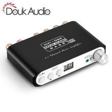 Douk audio Bluetooth DSP Digital Power Verstärker 2,1 Kanal Subwoofer Bass Klasse D Mini Hallo-fi Amp Audio Empfänger