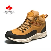 DECARSDZ Men Casual Boots Men 2021 Autumn New Designer Outdoor Brand Sneakers Shoes Men Boots Fashion Comfy Lace-up Men's Boots