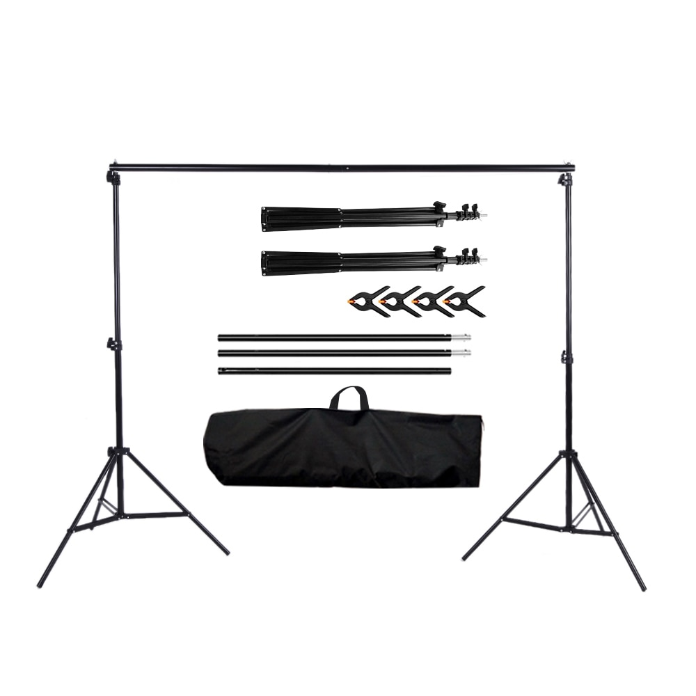 Photo Background Photography Backdrops Props Frame Support Accessories Video Lighting Studio Kit Green Screen For Photo Studio