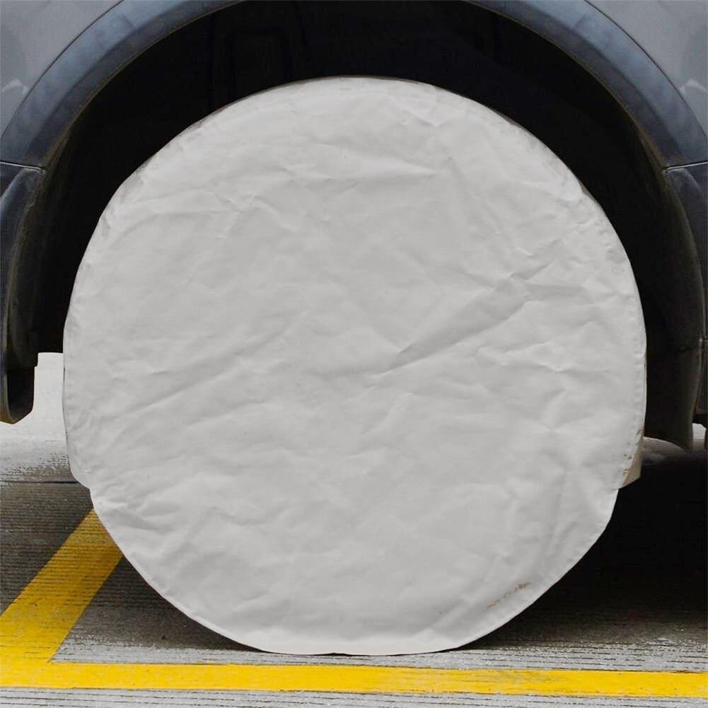 2019 4 pces capa de pneu à prova ddustágua revestimento dustproof pneu sun protetores para rv suv carros csl88