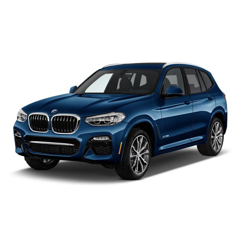 Купить с кэшбэком Side Window Deflectors For BMW X3 2011 2012 2013 2014 2015 2016 2017  Window Visor Car Wind Shield Sun Rain Visors SUNZ