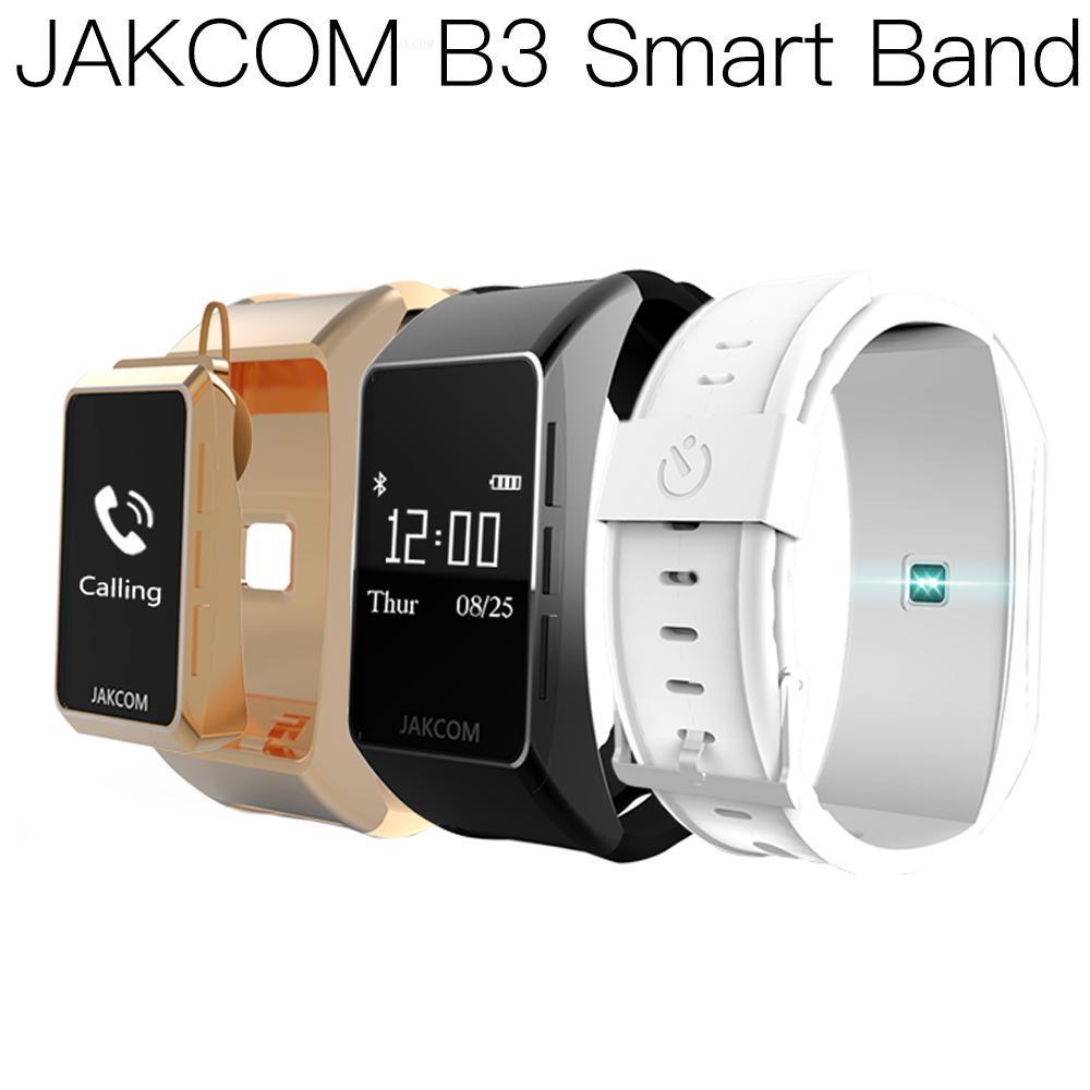 Reloj inteligente JAKCOM B3 para hombre y mujer, reloj inteligente xaomi 4 stratos 2 nfc, reloj de pulsera inteligente