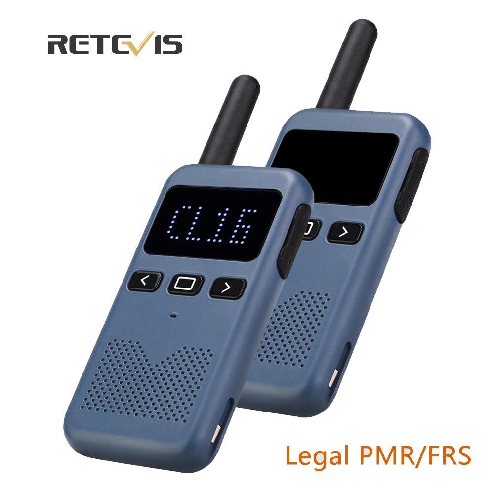 Walkie Talkie Mini Retevis USB Type C Phone RB619 PMR 446 Radio Walkie-Talkies 1 or 2 pcs Two-way Radio Portable radio PTT Hotel