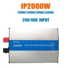 Epever 2000W Pure Sinus Omvormer 24 V/48 V Input 110VAC 120VAC 220VAC 230VAC Output 50Hz 60Hz Hoge Efficiëntie Converter Ipower