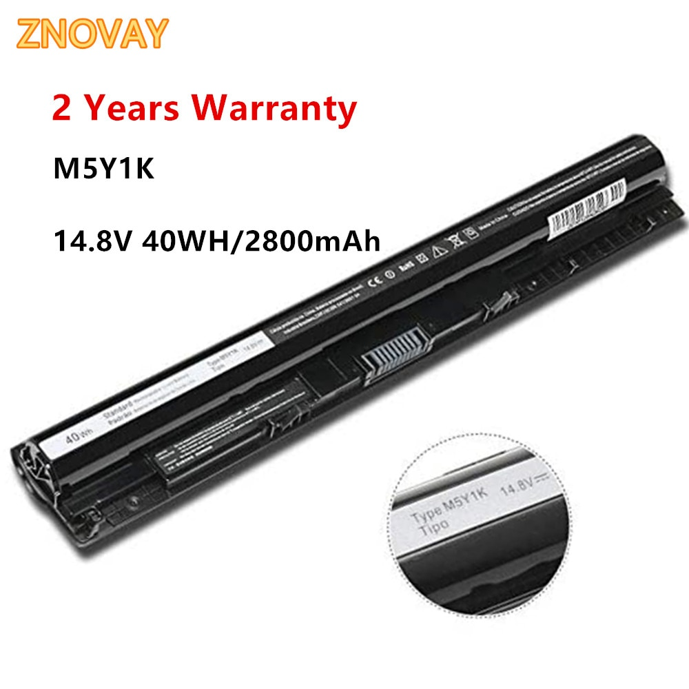 14.8V 40WH Laptop Battery M5Y1K FOR DELL 5455 5558 3000 3560 3570 3560 15 3000 5759 Notebook Battery