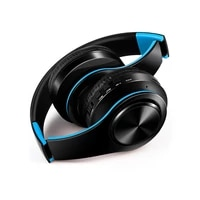 earphone bluetooth headphones over ear stereo wireless headset soft leather earmuffs built in mic for pccell phonestv