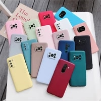 candy color frosted silicone phone case for xiaomi poco x3 nfc f2 f3 pro m3 pocophone f1 global matte soft tpu back cover cases