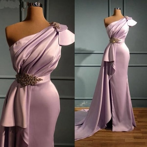 New Arrival robe de soiree evening dresses 2020 Mermaid Sweep Train Evening Formal dress evening gowns