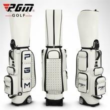 Pgm 여자 골프 표준 가방 Pu 방수 골프 가방 대용량 여행 골프 가방 전문 골프 카트 클럽 패키지 D0082