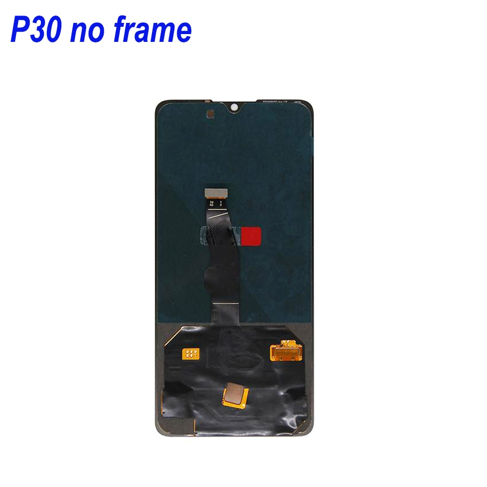 SUPER Amoled For HUAWEI P30 LCD Display Touch Screen Digitizer Replacement Parts For Huawei P30 ELE-L29 ELE-L09 ELE-AL00 Screen enlarge