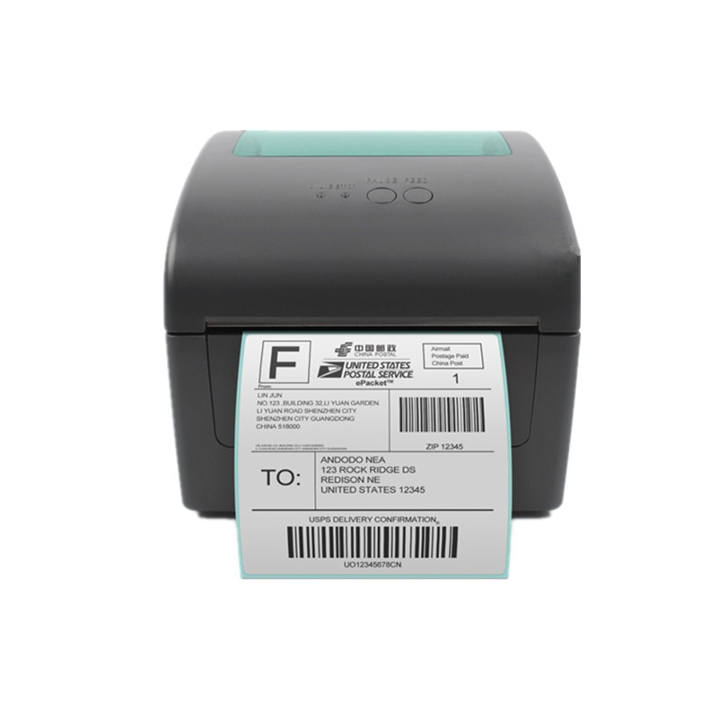 1924D Express Electronic Waybill Epacket Logistics Shipping Invoice Product Price Sticker Label 20-104mm Thermal Barcode Printer