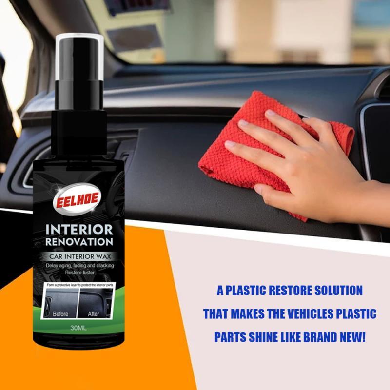 EELHOE Plastic Parts Retreading Agent Instrument Panel Interior Leather Auto Plastic Renovated Coating Car Maintenance TSLM1