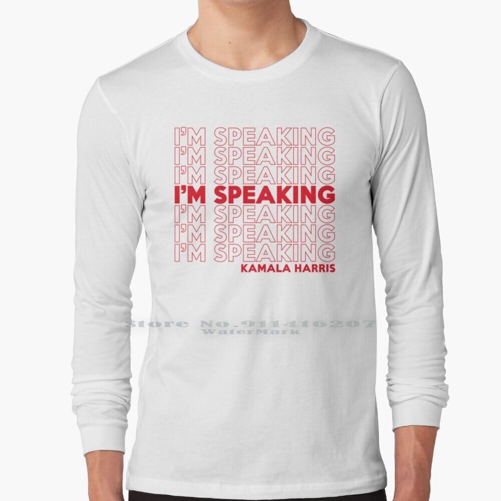 I'm Speaking Kamala T Shirt 100% Pure Cotton Im Speaking I Am Speaking Kamala Harris 2020 Speaking Biden 2020 Im Speaking