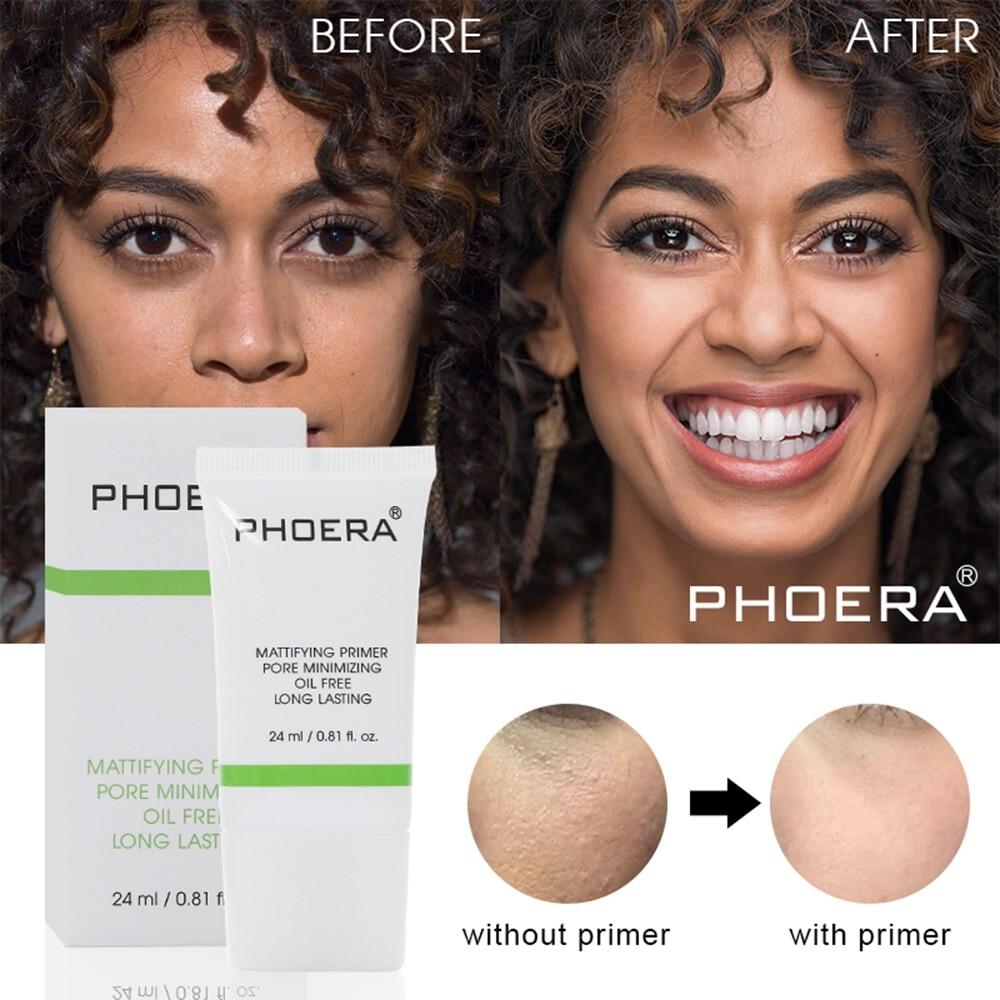 Crema transparente de larga duración, poro Invisible, Control de aceite perfecto, maquillaje hidratante, Primer poros, desaparecerá, Base de maquillaje facial