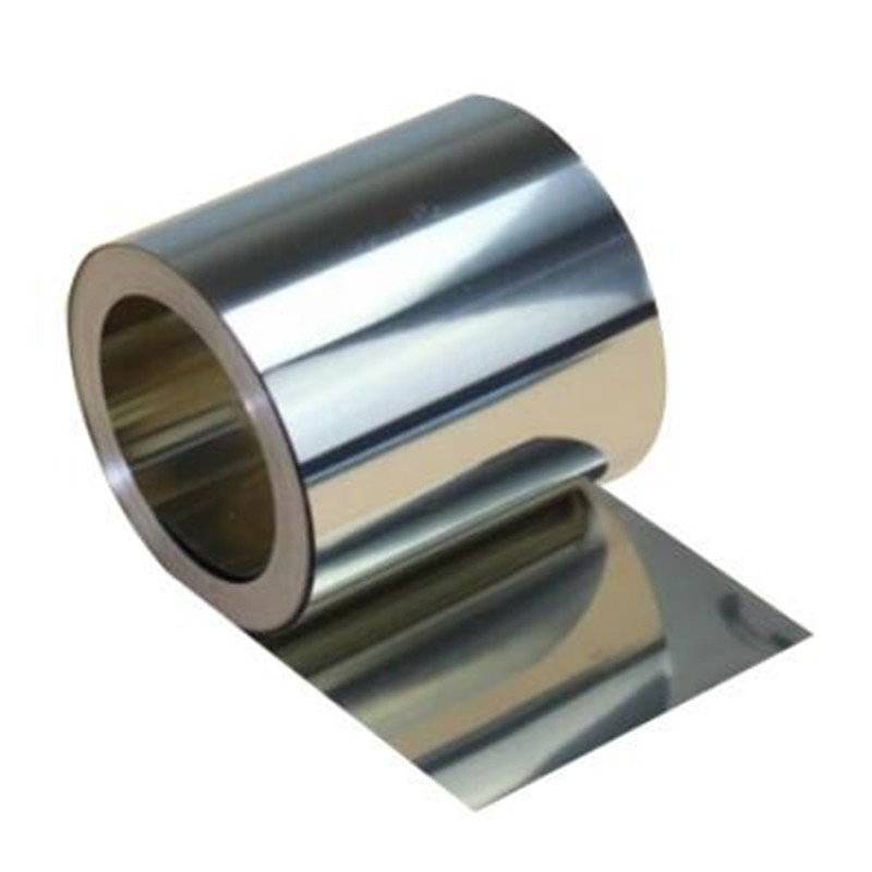 Newest Stainless Steel Sheet Silver 304 Stainless Steel Fine Plate Sheet Foil 0.01-0.08mm*100mm*1000mm For Precision Machinery
