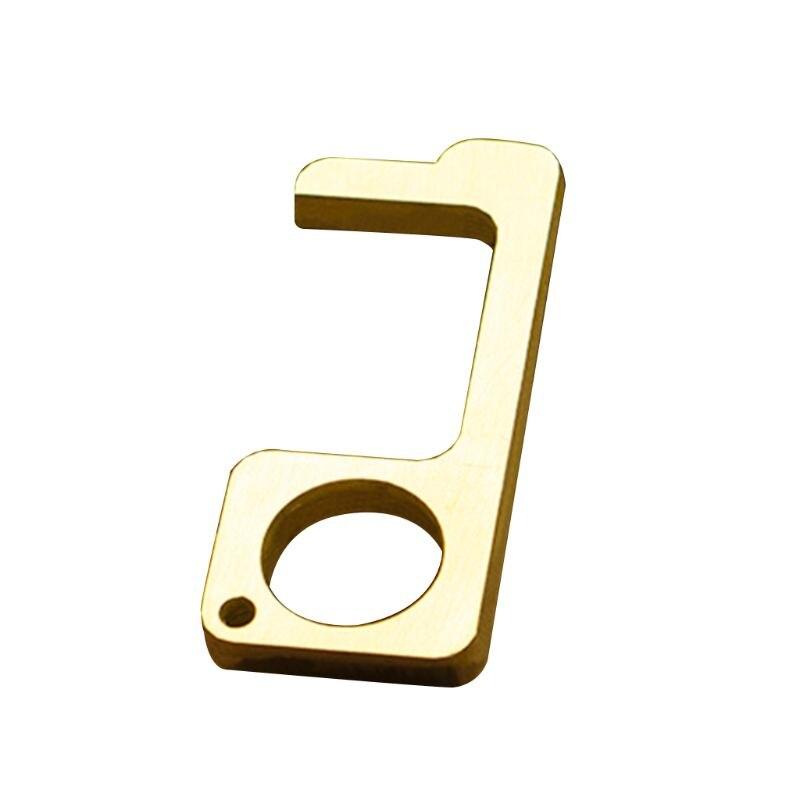 Palo portátil sin contacto para abrir la puerta para presionar el botón del elevador, mantén las manos limpias, autolimpiante, reutilizable, Personal