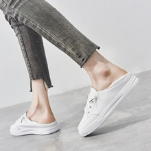 Women Casual Sneakers Genuine Leather White Sneakers,Breathable Sneakers,Comfort Shoes,Women's Vulca