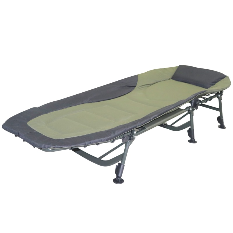 المحمولة في الهواء الطلق التخييم المهد سرير قابل للطي الإطار المعدني التخييم المشي لمسافات طويلة كراسي الصيد سرير الجلوس/وضع